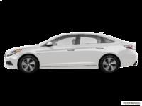 2016 Hyundai Sonata Plug-in Hybrid ULTIMATE   Photo 1   Ice White