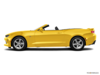 2017 Chevrolet Camaro convertible 2LT | Photo 1 | Bright Yellow