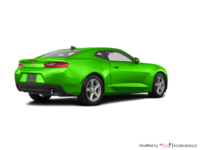 2017 Chevrolet Camaro coupe 1LT   Photo 2   Krypton Green