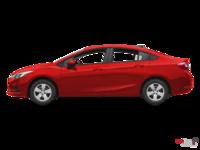 2017 Chevrolet Cruze LS   Photo 1   Red Hot