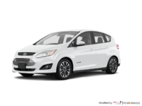 2017 Ford C-MAX HYBRID TITANIUM | Photo 3 | White Platinum