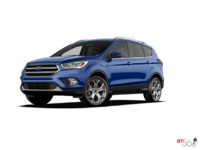 2017 Ford Escape TITANIUM   Photo 3   Lightning Blue