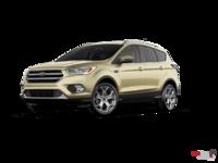 2017 Ford Escape TITANIUM   Photo 3   White Gold