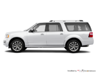2017 Ford Expedition LIMITED MAX   Photo 1   White Platinum Metallic