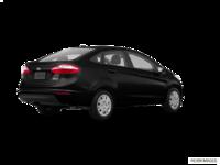 2017 Ford Fiesta Sedan S   Photo 2   Shadow Black