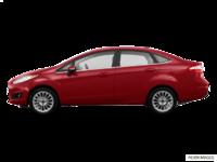 2017 Ford Fiesta Sedan TITANIUM | Photo 1 | Ruby Red