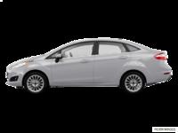 2017 Ford Fiesta Sedan TITANIUM | Photo 1 | Ingot Silver