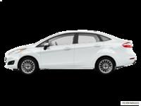 2017 Ford Fiesta Sedan TITANIUM | Photo 1 | White Platinum