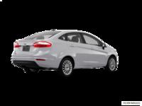 2017 Ford Fiesta Sedan TITANIUM | Photo 2 | Ingot Silver