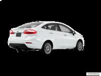 2017 Ford Fiesta Sedan TITANIUM | Photo 2 | White Platinum