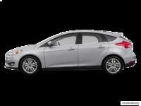 2017 Ford Focus Hatchback TITANIUM | Photo 1 | Ingot Silver