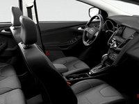 2017 Ford Focus Hatchback TITANIUM   Photo 1   Charcoal Black Leather