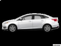 2017 Ford Focus Sedan TITANIUM | Photo 1 | White Platinum Metallic