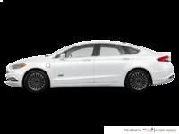 2017 Ford Fusion Energi PLATINUM | Photo 1 | White Platinum