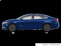 2017 Ford Fusion Hybrid TITANIUM | Photo 1 | Lightning Blue