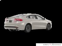 2017 Ford Fusion Hybrid TITANIUM | Photo 2 | White Gold