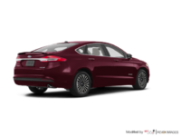 2017 Ford Fusion Hybrid TITANIUM | Photo 2 | Burgandy Velvet