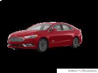 2017 Ford Fusion Hybrid TITANIUM | Photo 3 | Ruby Red