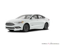 2017 Ford Fusion Hybrid TITANIUM | Photo 3 | White Platinum