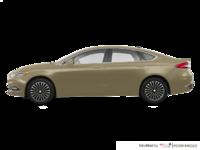 2017 Ford Fusion TITANIUM | Photo 1 | White Gold