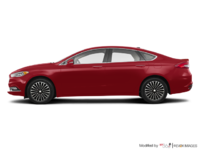 2017 Ford Fusion TITANIUM | Photo 1 | Ruby Red