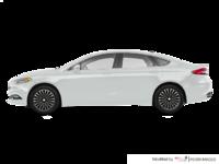 2017 Ford Fusion TITANIUM | Photo 1 | White Platinum