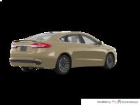 2017 Ford Fusion TITANIUM | Photo 2 | White Gold