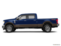 2017 Ford Super Duty F-350 LARIAT | Photo 1 | Blue Jeans Metallic/Caribou