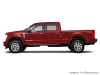 2017 Ford Super Duty F-350 PLATINUM | Photo 1 | Ruby Red