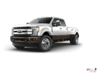 2017 Ford Super Duty F-450 KING RANCH | Photo 3 | Oxford White/Caribou
