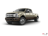 2017 Ford Super Duty F-450 KING RANCH | Photo 3 | White Gold Metallic/Caribou