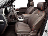 2017 Ford Super Duty F-450 KING RANCH | Photo 1 | Java Mesa Antique Leather