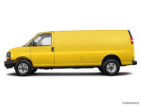 2017 GMC Savana 2500 CARGO   Photo 1   Wheatland Yellow