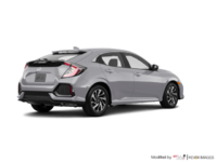 2017 Honda Civic hatchback LX   Photo 2   Lunar Silver Metallic