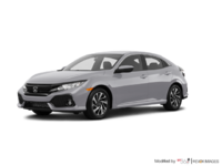 2017 Honda Civic hatchback LX   Photo 3   Lunar Silver Metallic