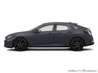 2017 Honda Civic hatchback SPORT   Photo 1   Polished Metal Metallic