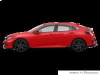 2017 Honda Civic hatchback SPORT   Photo 1   Rallye Red