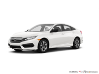 2017 Honda Civic Sedan DX | Photo 3 | Taffeta White
