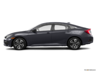 2017 Honda Civic Sedan EX-T | Photo 1 | Modern Steel Metallic