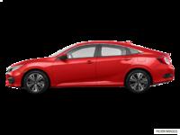 2017 Honda Civic Sedan EX-T | Photo 1 | Rallye Red