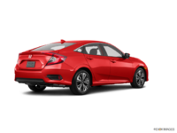2017 Honda Civic Sedan EX-T | Photo 2 | Rallye Red