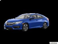 2017 Honda Civic Sedan EX-T | Photo 3 | Aegean Blue Metallic