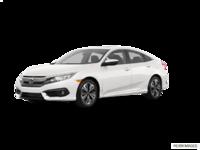 2017 Honda Civic Sedan EX-T | Photo 3 | White Orchid Pearl
