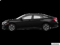 2017 Honda Civic Sedan LX-HONDA SENSING | Photo 1 | Crystal Black Pearl