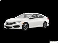 2017 Honda Civic Sedan LX-HONDA SENSING | Photo 3 | Taffeta White