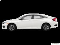 2017 Honda Civic Sedan LX | Photo 1 | Taffeta White