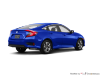 2017 Honda Civic Sedan LX | Photo 2 | Aegean Blue Metallic