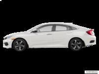 2017 Honda Civic Sedan TOURING | Photo 1 | White Orchid Pearl