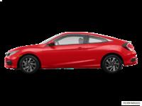 2017 Honda Civic Coupe LX-HONDA SENSING | Photo 1 | Rallye Red