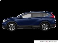 2017 Honda CR-V LX   Photo 1   Obsidian Blue Pearl